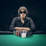 Texas Hold'em poker: the winner Royalty Free Stock Photos