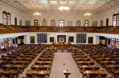 The Texas House of Representatives Chamber Royalty Free Stock Photography