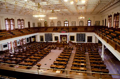 The Texas House of Representatives Chamber Royalty Free Stock Photo