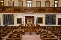 The Texas House of Representatives Chamber Royalty Free Stock Photos