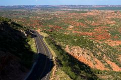 Texas Hwy 207 Photo libre de droits