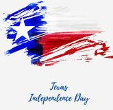 Texas Independence Day ferie stock illustrationer