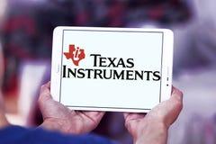 Texas Instruments-Firmenlogo Stockbilder