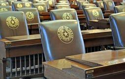 Texas-Kapitol-Stühle Stockbild