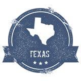Texas-Kennzeichen vektor abbildung
