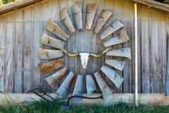 Texas ladugårdkonst Royaltyfria Bilder