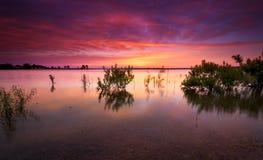 Texas Lake Sunrise photos stock