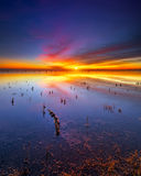 Texas Lake Sunrise imagem de stock royalty free
