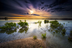 Texas Lake Sunrise Royalty Free Stock Photography