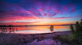 Texas Lake Sunrise Royalty Free Stock Photography