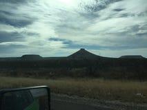 Texas Landscape cerca del pie stockton Imagen de archivo libre de regalías