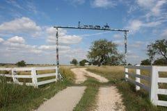Texas-Landschaft lizenzfreie stockbilder