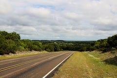 Texas lantgård som ska marknadsföras Arkivfoto