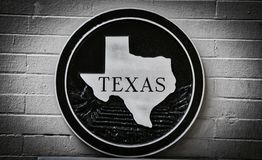 Texas The Lone Star State Stock Photo
