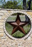 Texas Lonestar Star Wall Royalty Free Stock Photography