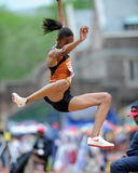 Texas long jumper Chantel Malone Royalty Free Stock Photo