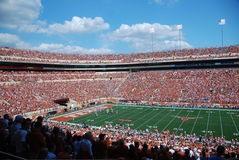 Texas longhorns college football game Royalty Free Stock Image