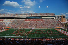 Texas longhorns college football game Stock Photo