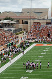 Texas Longhorns college football game Stock Image