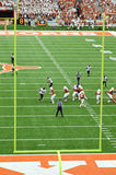 Texas Longhorns college football game Royalty Free Stock Photography