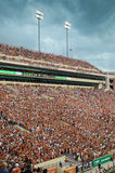 Texas Longhorns-College - Football-Spiel lizenzfreies stockbild