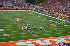 Texas Longhorns-College - Football-Spiel stockfotos
