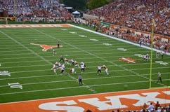 Texas Longhorns-College - Football-Spiel Stockfotos