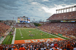 Texas Longhorns-College - Football-Spiel Lizenzfreies Stockfoto