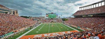 Texas Longhorns-College - Football-Spiel Lizenzfreies Stockfoto