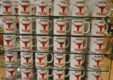 Texas Longhorns cups Stock Photos