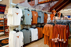 Texas Longhorns gift shop Royalty Free Stock Photos