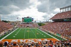 Texas-Longhornscollege - football-Spiel Stockfoto