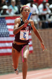 Texas A&M female track athlete Dominique Duncan Royalty Free Stock Photos