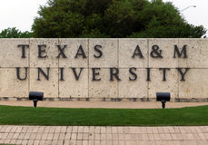 Texas A&M University stock afbeeldingen