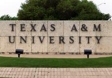 Texas A&M University Stock Images