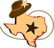 Texas Map Royalty Free Stock Photos
