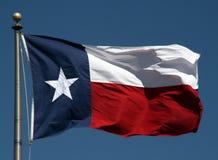 Texas-Markierungsfahne Lizenzfreies Stockfoto