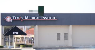 Texas Medical Institute, Fort Worth, il Texas immagine stock libera da diritti
