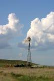 Texas Moinho de vento-Vertical Imagens de Stock Royalty Free