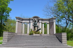 Texas Monument chez Vicksburg image stock