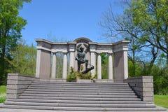 Texas Monument på Vicksburg Fotografering för Bildbyråer