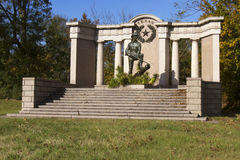 Texas Monument in Vicksburg Military Park Stock Photography