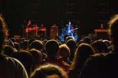 Texas musikband som utför på festivalen Royaltyfri Foto