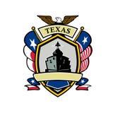 Texas Navy Battleship Flag Icon Royalty Free Stock Images