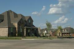 Texas neighborhood. Neighborhood view in Texas USA Stock Images