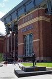 Texas A och M Kyle Field Football Stadium Royaltyfri Bild