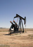 Texas Oil Pump. An oil pump in the Texas panhandle Royalty Free Stock Photo