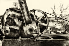 Texas Oilwell Pump Jack Motor Royalty-vrije Stock Afbeelding