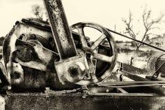Texas Oilwell Pump Jack Motor Imagem de Stock Royalty Free