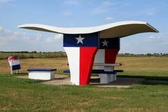 Texas-Picknick-Tabelle Stockbilder